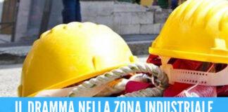 Tragedia sul lavoro a Marcianise, operario muore schiacciato da una pressa