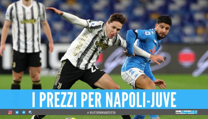 Biglietti Napoli-Juve