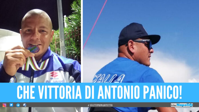 Antonio Panico orgoglio giuglianese, campione del mondo nella pesca d'altura