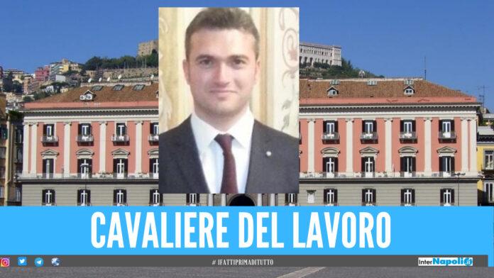 Ordine al Merito della Repubblica Italiana, titolo di Cavaliere all'ingegnere Gionata Barbieri