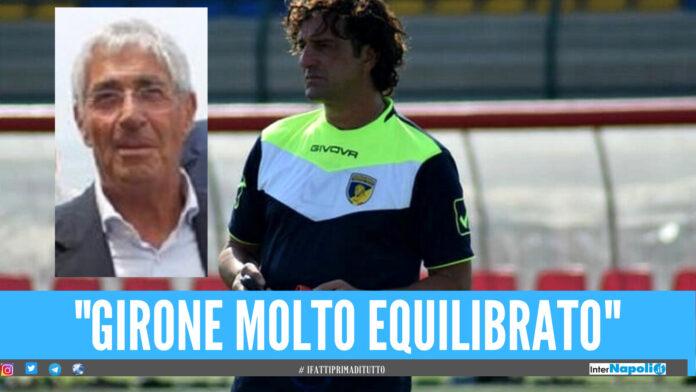 "Girone ""G"" Serie D 2021-2022, intervista a mister Franco Villa:"