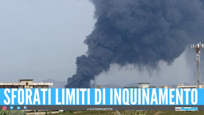 Incendio di Teverola-Carinaro, l'Arpac: