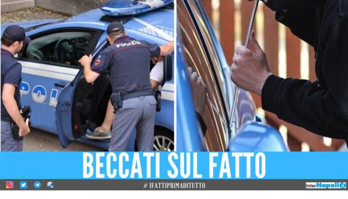 ladri d'auto a Napoli