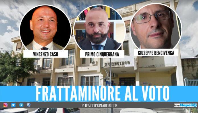 Frattaminore, 3 candidati a sindaco