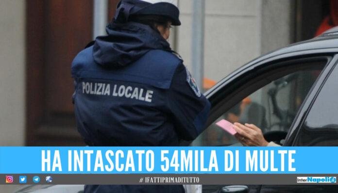 Intasca 54mila euro dalle multe dei cittadini, nei guai vigilessa del Casertano