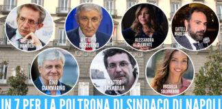 I candidati a sindaco alle elezioni comunali a Napoli