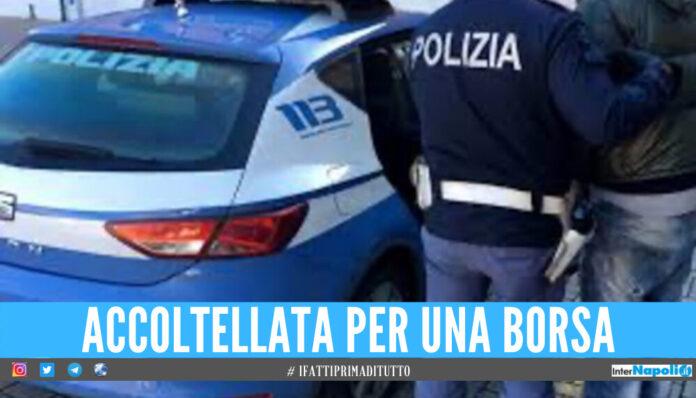 Donna rapinata e accoltellata a Napoli, in 2 inseguono l'aggressore prima dell'arresto