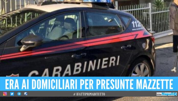 Evade 4 volte dai domiciliari, dipendente comunale di Castellammare finisce in carcere