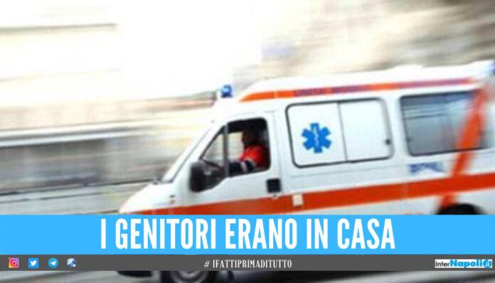 Bimba di 11 anni cade dal balcone, ore di ansia anche a Cosenza: è in gravi condizioni