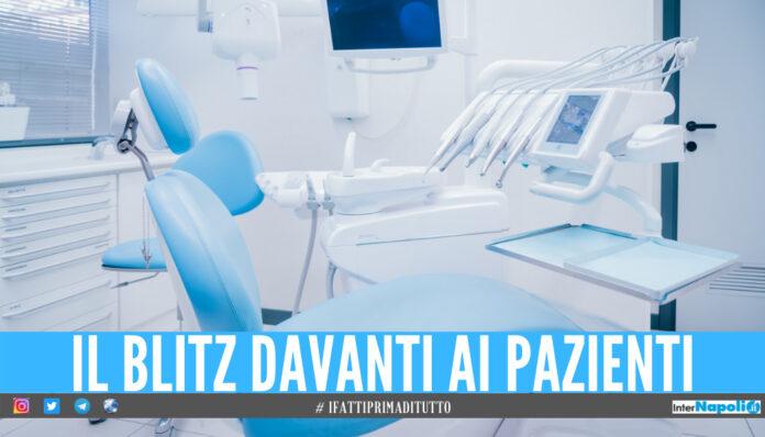 Falsi dentisti tra Napoli e Villaricca, scatta il blitz: sequestrati 6 ambulatori