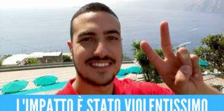 Tragico incidente in Campania, Roberto si schianta con la moto e muore a 25 anni
