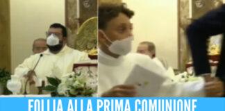 Prima comunione finisce in sparatoria, carabiniere ferito alla testa fuori la chiesa