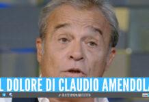 Claudio Amendola, la confessione sulla malattia della moglie: «Ho pianto tanto»