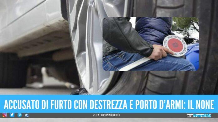 Assalta l'auto con il trucco della 'ruota bucata', arrestato dai Falchi a Napoli