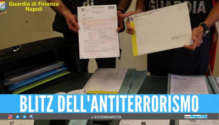 Blitz antiterrorismo a Napoli