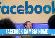 facebook cambia nome