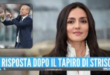 Ambra Angiolini, frecciatina ad Allegri dopo il 'Tapiro d'oro': «Esiste il giorno zero»