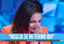 Anna Tatangelo in lacrime a Verissimo, le parole su Gigi D'Alessio e la malattia del padre