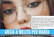 Ansia e preoccupazione a Melito per Maria, la 21enne è scomparsa da ieri sera