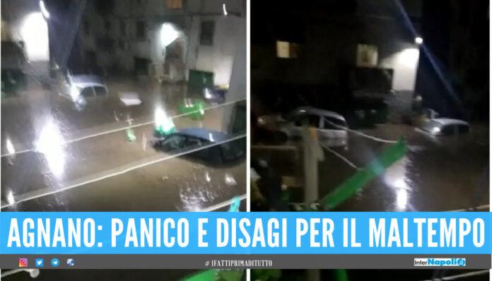 Panico ad Agnano
