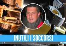 Ancora una vittima sul lavoro in Campania, Alfonso morto schiacciato dall'escavatore
