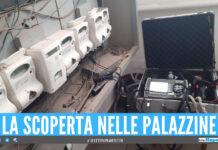 Scoperto contatore 'pezzotto' nelle palazzine di Sant'Antimo, il blitz nel rione 219