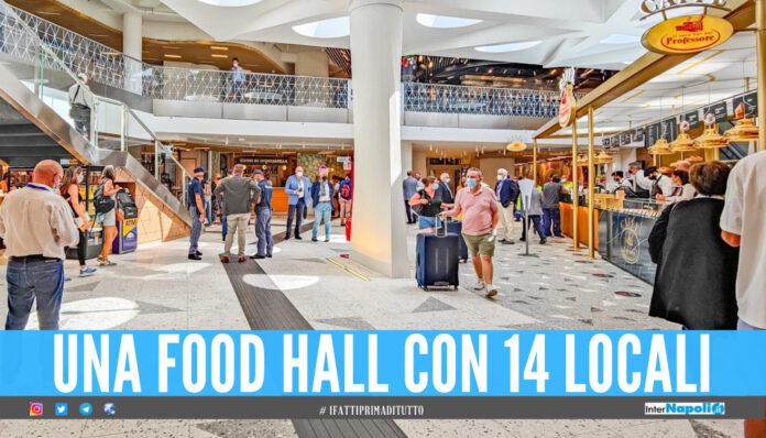 Food Hall alla stazione di Napoli Centrale