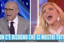 Alfonso Signorini e Francesca Cipriani al GF Vip
