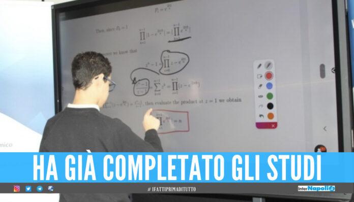 Lorenzo, il genio della matematica.