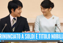 La principessa Mako, del Giappone, si è finalmente sposata