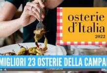 Le migliori osterie d'Italia 2022