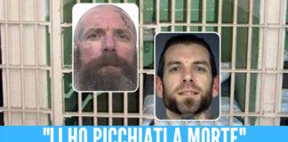 Da sinistra: l'omicida Jonathan Watson e David Bobb, uno dei pedofili uccisi