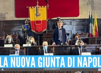 La nuova giunta di Napoli