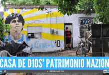 La casa natale di Maradona diventa patrimonio nazionale argentino, firmato il decreto presidenziale