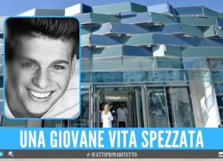 Mario precipitata da 6 metri, il 23enne muore all'Ospedale del Mare
