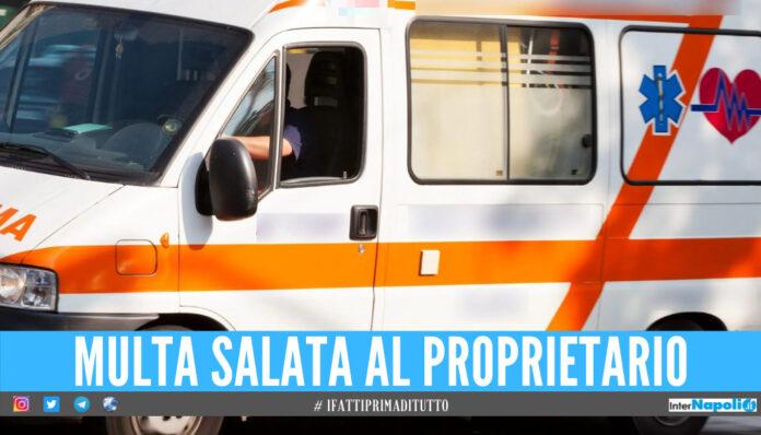 ambulanza senza assicurazione