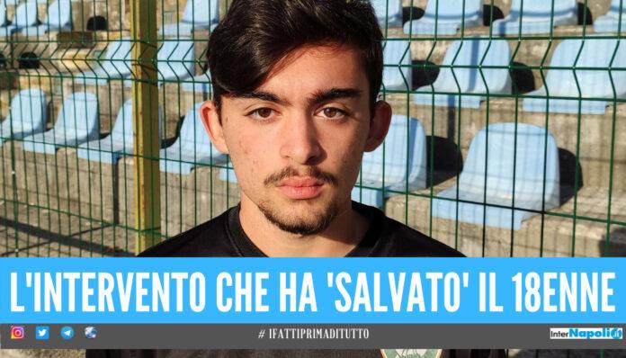 Malore durante la partita di Serie D nel Casertano, calciatore 18enne salvato dall'avversario