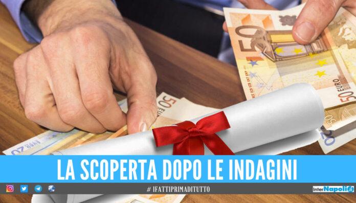 Scoperta la 'fabbrica' dei falsi diplomi a Salerno, oltre 550 persone indagate