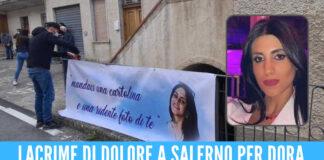 Palloncini bianchi e rose, è la giornata del dolore a Salerno: oggi i funerali della giovane Dora