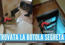 Droga nascosta nella botola e nel cassetto, arrestato 41enne a Chiaiano