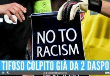 Giocatore insultato con frasi razziste, tifoso denunciato in provincia di Napoli