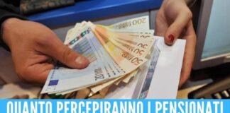 Le pensioni saranno più alte da gennaio, previsti aumenti da 300 euro