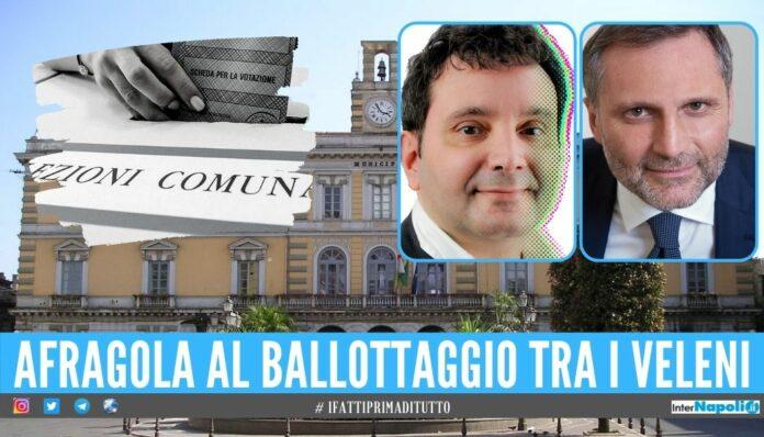 L'ombra del voto inquinato ad Afragola, sfida al veleno tra Pannone e Giustino al ballottaggio