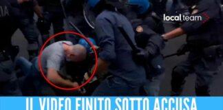Manifestante No Green pass picchiato a Roma, il poliziotto si è autodenunciato