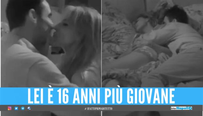Miriana Trevisan e Nicola Pisu, il bacio al Grande Fratello Vip