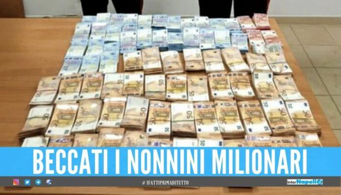 Nascondevano in casa 1,5 milione di euro in contanti, 2 pensionati nei guai