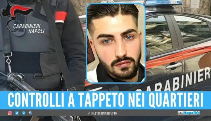 Omicidio del figlio del boss a Ponticelli, scattano i controlli dei carabinieri