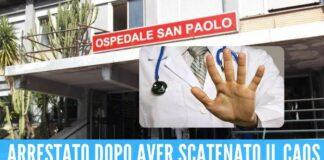 Picchia i medici del pronto soccorso di Napoli Non voglio andarmene