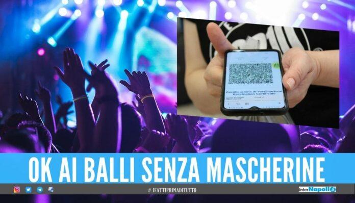Riaprono le discoteche in Italia, capienza ridotta al 35% e Green Pass