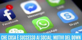 Ripartono Facebook, Instagram e WhatsApp scoperta la causa del blocco